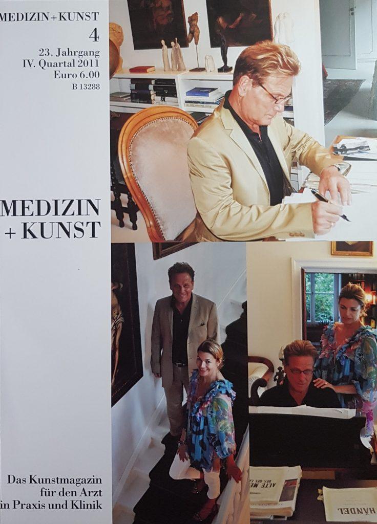 Medizin+Kunst 4-2012 Prof. Dr. Hans- Jürgen Möller mit Ehefrau